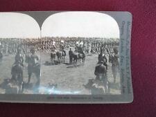 Stereoview Keystone View Company The 48th Highlanders Of Toronto 16046 WW1 (O)