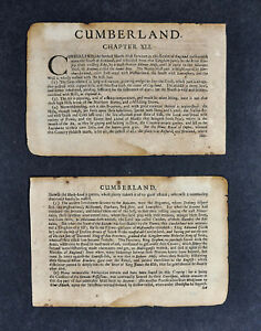 1675-John-Speed-Atlas-2-Leafs-Cumberland-County-England-United-Kingdom