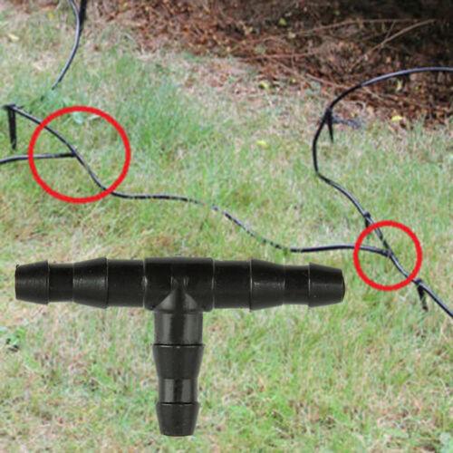 10x Connettore di giunzione a T 4mm MICRO IRRIGAZIONE Compatibile con Hozelock 2777
