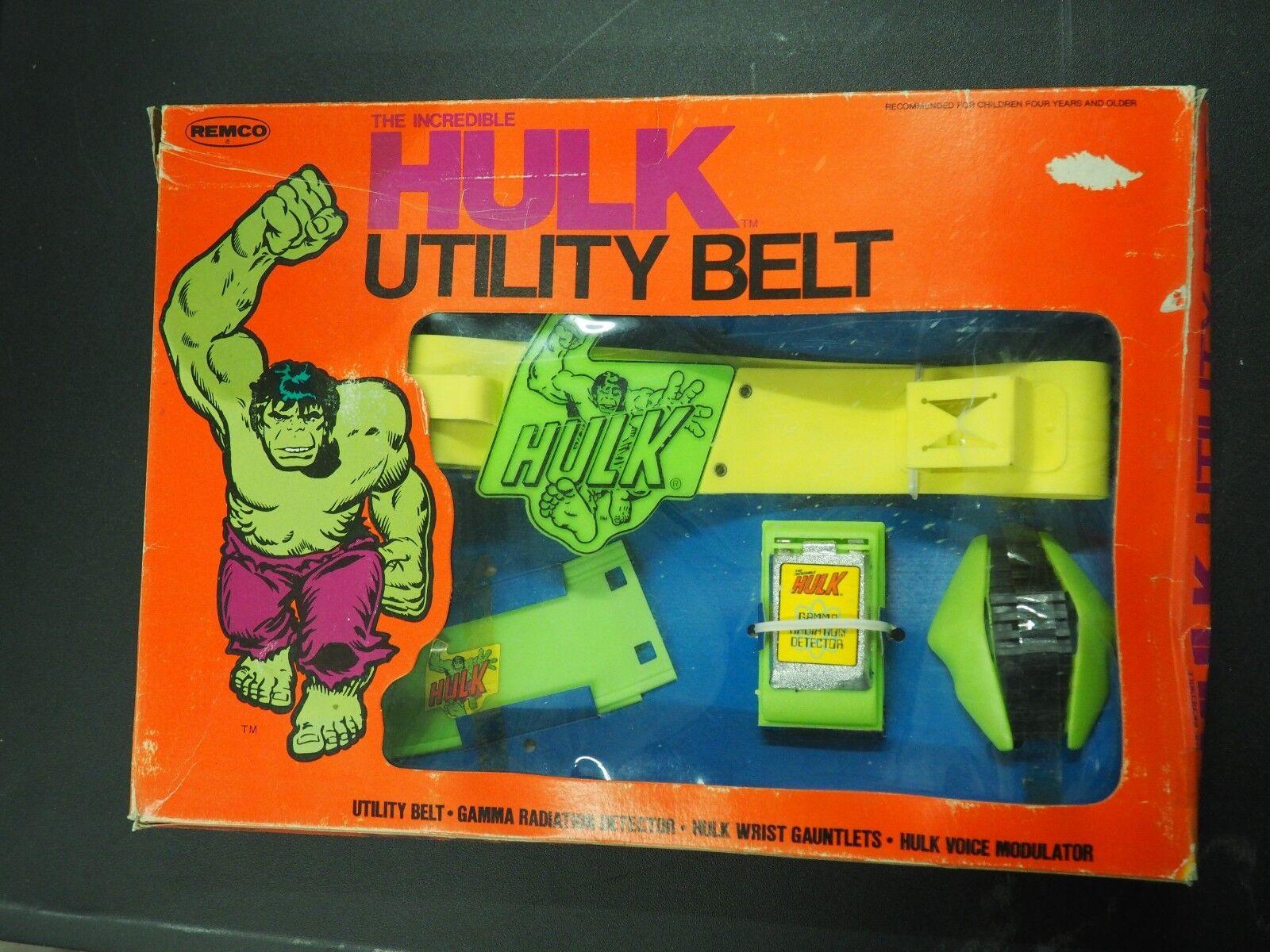 Remco Otroliga Hulk Allmänhetens bälte togs aldrig ur lådan