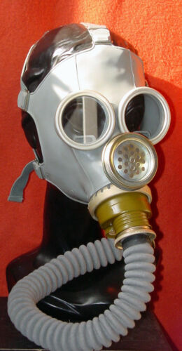 Gasmaske Boris  Black Style Gummischlauch Poppers Halloweenartikel  Dark Room