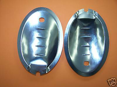 Door handle finger plates VW camper van T2 1969 to 1979