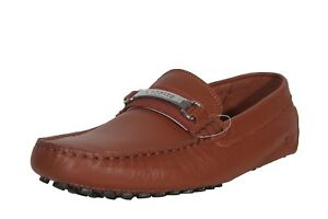 07a1dd6684eb3 Lacoste Men s Leather Loafers Ansted 318 1 U Cam Tan 7-36CAM008005B ...