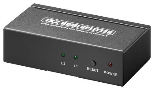 2x Aus                     #c305 HDMI Splitter 1x Ein