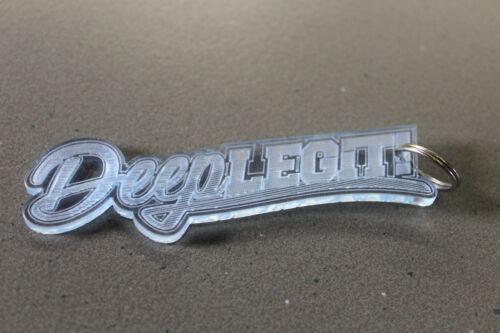 Deeplegit Schlüsselanhänger 9cm aus Fluoreszierenden Plexiglas    Deep Legit