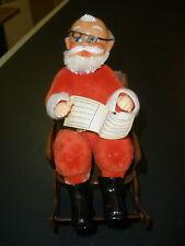 vintage Santa rocking on a chair CUTE