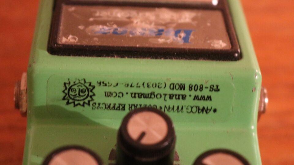 Analogman Ibanez TS9-TS-808 mod – dba dk – Køb og Salg af Nyt og Brugt