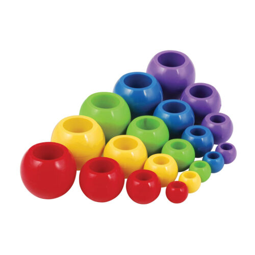 Allen Brothers Rope and Shock Cord Ball Stoppers 13mm Yellow