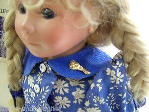 Steiff Steiff Puppe Babinchen mit Teddy limitierte Edition