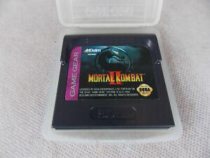 Vintage-Sega-Game-Gear-Mortal-Combat-Mint-with-Game-Gear-Case