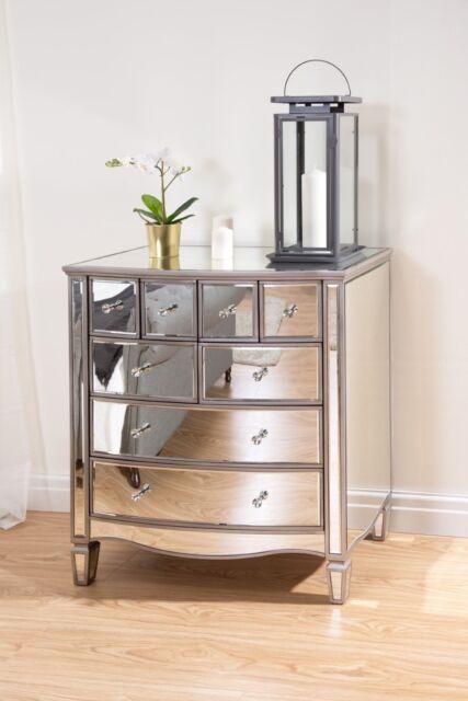 Glass Bedroom Furniture - Bedford Bedroom Furniture