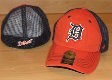 new concept 86e3a 4cf6f Detroit Tigers  47 Closer Mesh Back Flex Fitted Hat Cap Men s ...