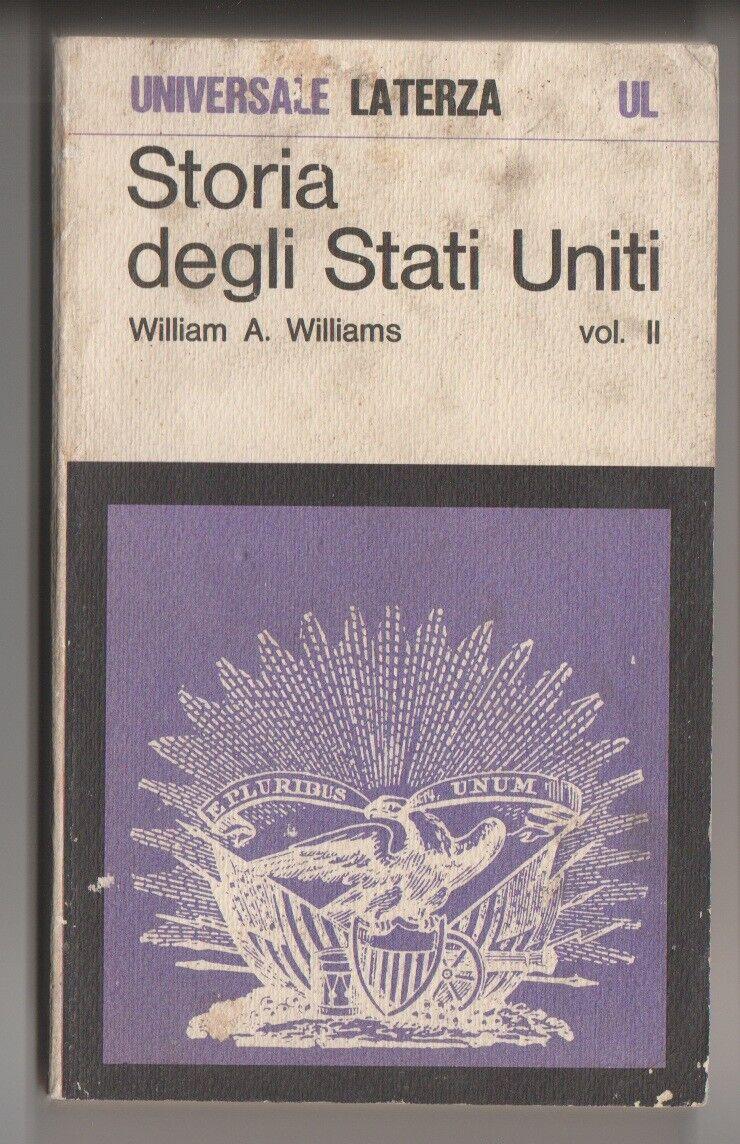 Storia degli Stati Uniti 2° vol.