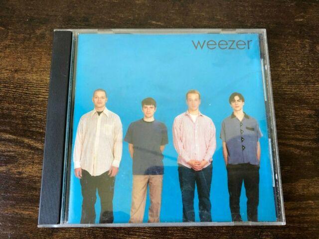 1994 Geffen Records Weezer Self Titled Album Blue Cover AUDIO CD