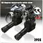 2x-Black-CNC-Aluminum-Motorcycle-90-Degree-Angle-Wheel-Tire-Stem-Tubeless-Valve thumbnail 1