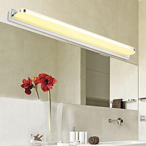 Spiegelleuchte led badlampe badleuchte spiegellampe bilderlampe badezimmer licht ebay - Spiegelleuchte badezimmer ...