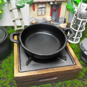 Cast-Iron-Cooking-Frying-Pan-Skillet-Mini-Non-stick-Fry-Pan-Kitchen-Cookware