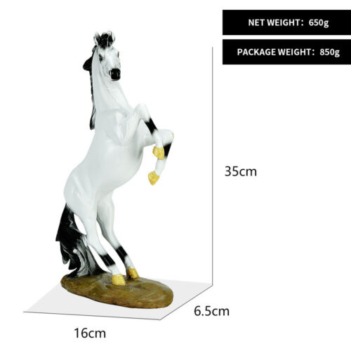 European style horse to success decoration living room office resin crafts