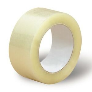 """12 Rolls-2""""x110 Yards(330' ft) Box Clear Carton Sealing Packing Packaging Tape"""