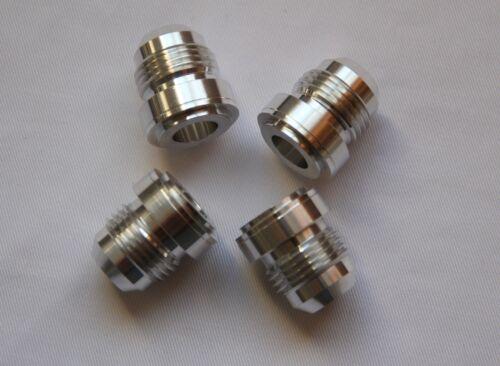 6AN 6-AN 6 #6 Male Billet Aluminium Weld On Fitting Bung 4X