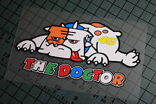 THE DOCTOR DOG Sticker Decal Vinyl Moto GP Yamaha Valentino Rossi Motorcycle R1