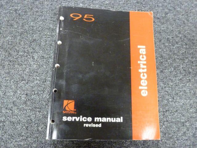 1995 Saturn Sl Sl1 Sw1 Sc1 Sl2 Sw2 Sc2 Electrical Wiring Diagrams Service Manual