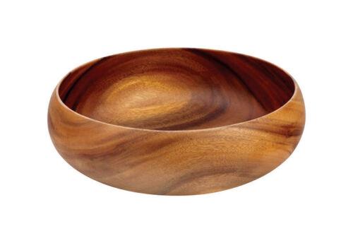 Pacific Merchants  10 in Brown  Acacia Wood  Calabash  Salad Bowl