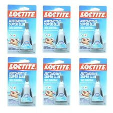 6 Pack Loctite Automotive Super Glue Gel No Drip Easy Application 18 Oz