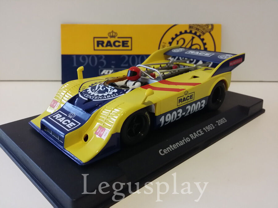 Slot SCX Scalextric Fly Fly Fly 96018 Porsche LTED.ED Centenario Race 1903-2003 / E-161 d0c394