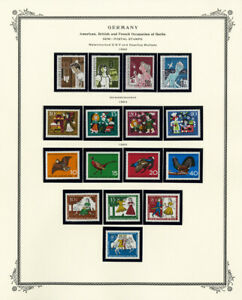Germany-Mint-Semi-Postal-Stamp-Collection