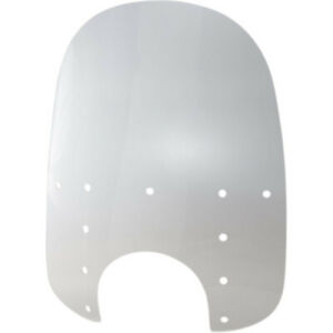 """Memphis Shades Replacement Windshield for Fats 21/"""" Clear 9/"""" Headlight Cutout"""