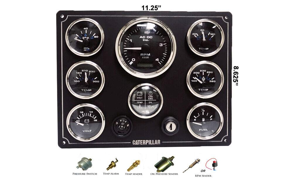 Caterpillar Motor Instrument Panel V-Serie Set