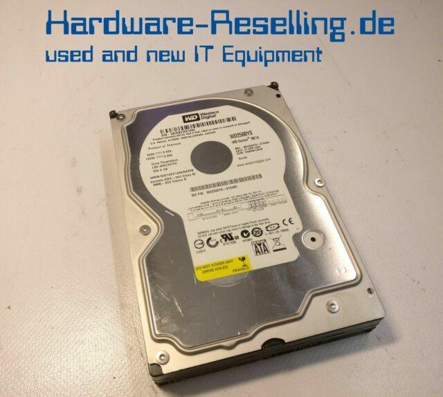 """WD Western 250gb 7200 RPM 3.5"""" SATA HDD wd2500ys-01shb1"""