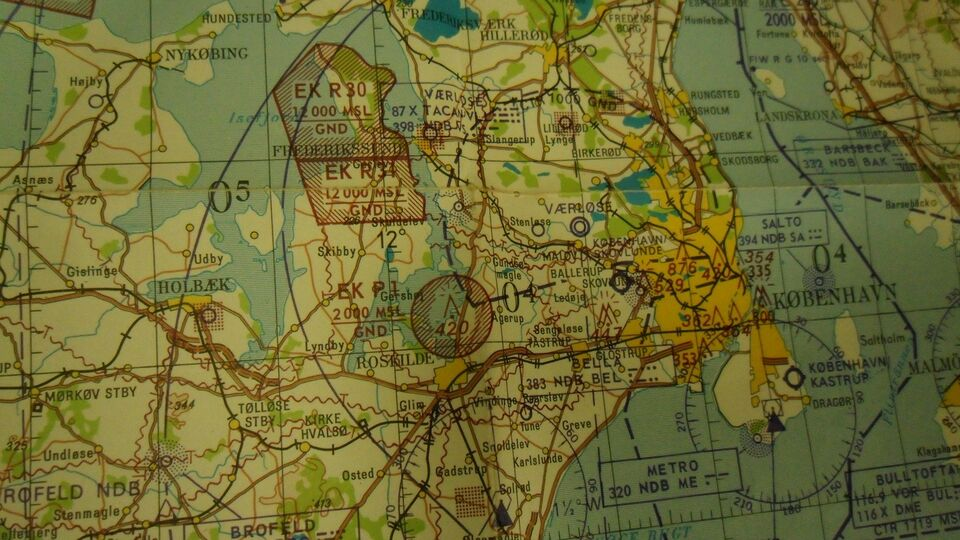 Aeronautical chart, Geodæisk insitut