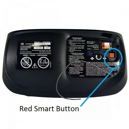 970LM Chamberlain LiftMaster Garage Door Opener Mini Remote Control  390MHZ 2PK