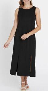 MILLERS Maxi Dress Plus Size 12 14 16 18 20 22 Black Long Party Evening