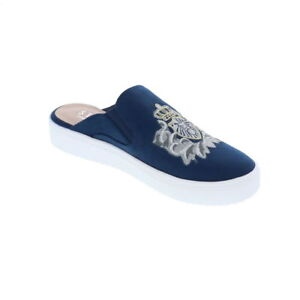 4e3d5d03c33 STEVEN by STEVE MADDEN Women's 'NC-LORA' EMBROIDERED Navy MULE SHOES ...