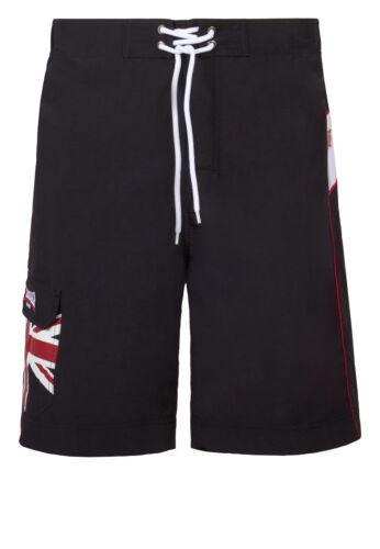 "schwarz Lonsdale- Beach Shorts /""Dawlish/"" Training S-3XL Boxen.Wettkampf"