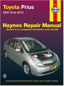 2001 2012 toyota prius repair manual 2011 2010 2009 2008. Black Bedroom Furniture Sets. Home Design Ideas
