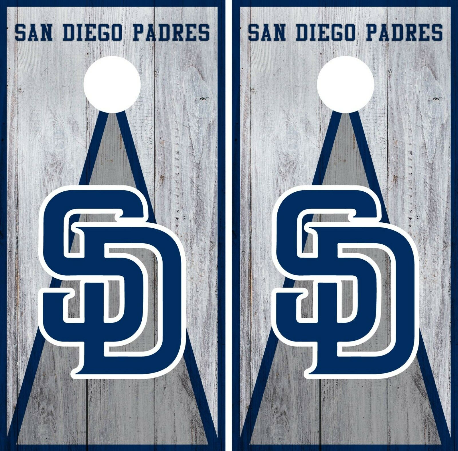 San Diego Padres Cornhole Wrap MLB Vintage Game Board Skin Set Vinyl Decal CO523