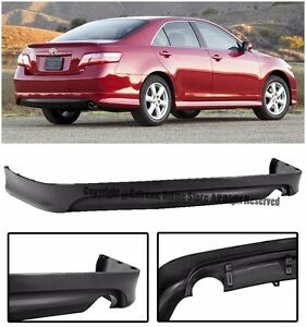 s l300 for 07 09 toyota camry se style replacement rear lower bumper lip