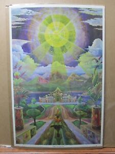 The-temple-of-the-golden-Rose-Vintage-1970-poster-Inv-G2621