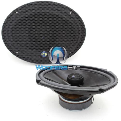 "CDT AUDIO CL-69X NEW 6x9/"" 2 WAY  1/"" SILK DOME TWEETERS COAXIAL SPEAKERS CL-69"