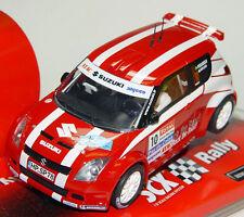 Scx Suzuki swift JWRC Rally Slot Car 1/32 scalextric 62850