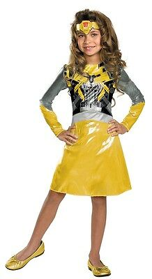 TRANSFORMERS Bumblebee Classic Girls Costume Licensed Child Outfit HALLOWEEN