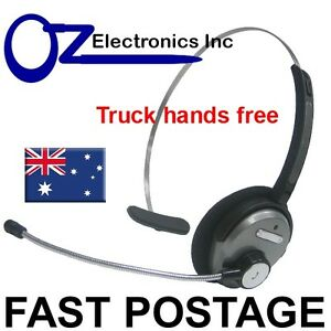 Bluetooth-Wireless-Headset-handsfree-for-Truck-driver-courier-noise-reduction