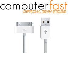 CAVO USB 30 PIN DATI RICARICA IPHONE 3G 3GS 4 4S IPAD 2 IPOD NANO TOUCH 2 METRI