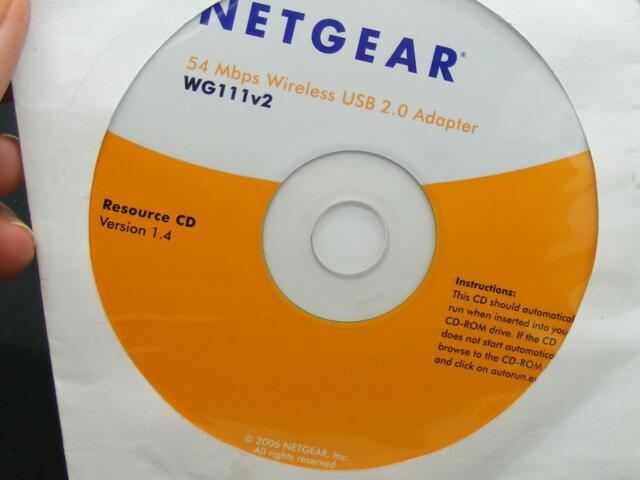 NetGear WG111V2 (12495805855) Wireless Adapter for sale