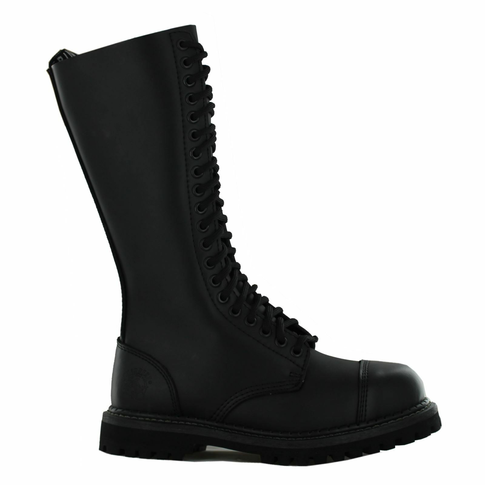 Grandes zapatos con descuento Grinders King CS Derby Black Womens - Mens Boots