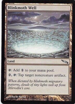4 Blinkmoth Well ~ Land Mirrodin Mtg Magic Uncommon 4x x4